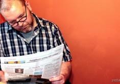 Keşke gazete olsaydın